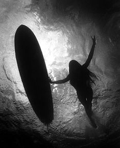 The Queen of Makaha - Rell Sunn. She was a pro surfer who sadly passed of cancer. Saw a documentary about her called Heart of the Sea. It was awesome.