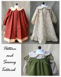 Sewing Pattern and Tutorial for Peter Pan Collar by NobbyOrganics, $9.95