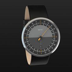 24-hour watch • UNO 24 one-hand watch online | Botta Design
