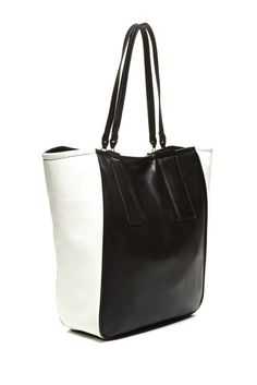 French Connection Metal Bar Tote