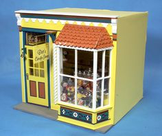 Room Box, Dot's Candy Shoppe (click to see inside)