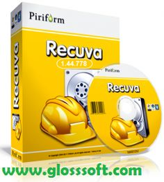 Recuva – Free Data Recovery tool  – Free download Gloss Soft