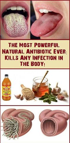 If you were in the search for a powerful, all natural and super healthy antibiotic- this is the recipe for you!