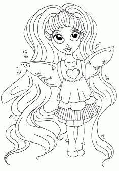 Peri kızı boyama sayfası, Fairy girl coloring page, Página para colorear de niña de hadas, Сказочная страница феи-девушки. Fairy Coloring Pages, Coloring Pages For Girls, Creative Activities, Google, Faeries, Colors, Kids Coloring Pages, Draw, Creative