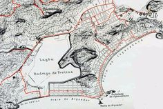 Mapa de transporte Bonde Trilhos - Rio de Janeiro