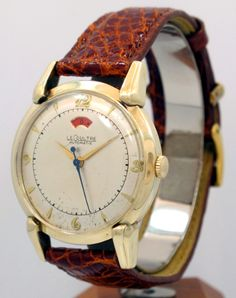 1950's — JAEGER - LE COULTRE Power Reserve Automatic — Round