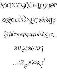 Bildergebnis für lord of the rings font alphabet