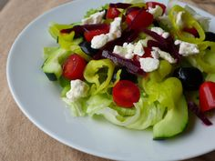 How could we make Greek salad any healthier? Add beets! Today's Mediterranean diet inspiration comes from the Motor City. Where in the early 20th century, the auto industry lured Mediterranean immigrants, many from Greece, with the promise of jobs. Over time, Pickled beets, which are a…