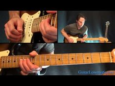 Crazy On You Guitar Lesson Pt.3 - Heart - Main Riff & Solos - YouTube