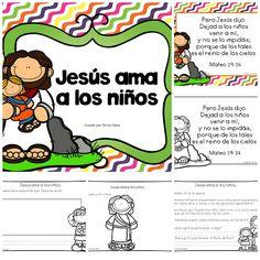 De los tales: Jesús ama a los niños