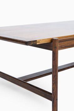 Torbjørn Afdal coffee table in rosewood at Studio Schalling #rosewood #retro