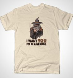I Want You For An Adventure - BustedTees - Image 1