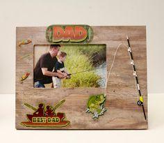 DIY TUTORIAL: Ben Franklin Crafts and Frame Shop: Make a Best Dad Frame for Father's Day