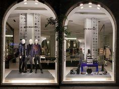 GIO MORETTI Fashion Week windows 2014, Milan – Italy