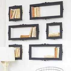 Wall gallery for books!