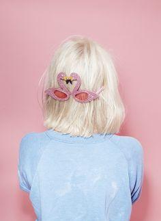 kiss-kiss flamingos