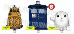 Doctor Who Pops