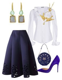 """Untitled #385"" by joyce-kemp on Polyvore featuring Alexander McQueen, Christian Louboutin and BROOKE GREGSON"