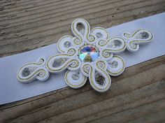 Ridgways / White-Gold-Crystal - opasok...soutache