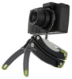 Gerber Steady >> set to be released in 2012 & rumored to hold a knife, 12 other implements + working as a tripod. Pretty nifty.