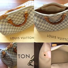 Louis Vuitton Speedy 30 Damier Authentic and like new, comes with duster, lock and key. Handles show a little bit of normal wear but not bad at all. Sorry no trades. Louis Vuitton Bags