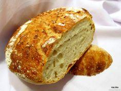 Nejedlé recepty: Domácí nehnětený chléb