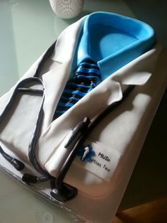 Doctor#medical#cake#chocolate#vanilla#birthday#Czech#miss.enemy