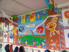 Peely wally school display by year 1 children Display Boards For School, School Displays, School Projects, Nursery, Children, Fun, Random, Young Children, Boys