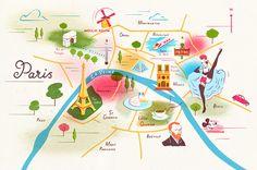 Owen Gatley: Paris – Ideas Illustrated.