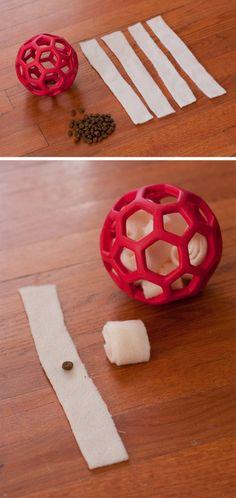 DIY Puzzle Dog Toy