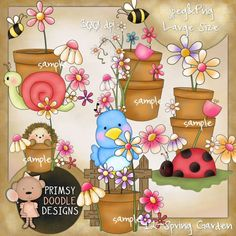 12- Spring garden - Click Image to Close