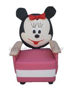 Παιδική πολυθρόνα με την αγαπημένη χαρακτήρα της Disney Minnie Mouse!Δημιουργήστε στο κορίτσι σας ένα καταπληκτικό δωμάτιο με θέμα την Minnie Mouse! Hello Kitty, Minnie Mouse, Disney Characters, Fictional Characters, Fantasy Characters