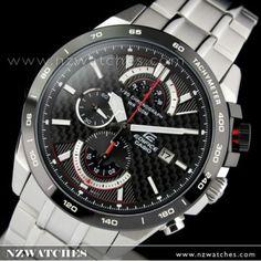 Casio Edifice Chronograph Carbon Fiber Dial Watch EFR-520SP-1AV 5e96f22a3b
