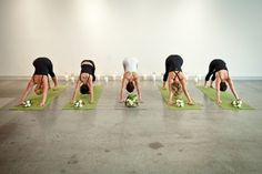This is fab! Yoga bachelorette party
