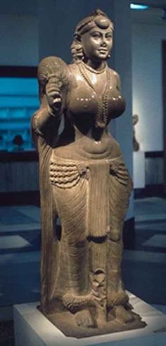 MAURYAN DYNASTY Anonymous (321 BCE - 185 BCE)  Yakshi Holding a Fly Whisk