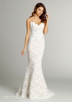 Bridal Gowns, Wedding Dresses by Alvina Valenta - Style AV9553 - Dress only - Fall 2015 Collection