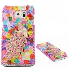 KAKA(TM) 3D Handmade Rhinestone Coloful Crystal Hard Case Cover Peacock Pattern Cell-phone Case For Samsung Galaxy Note 5. Easy to install and remove. Keep your device safe and give you easy access to all ports. warmly tip:pls take a close look at model and make sure it is fit for your cellphone. Handmake coloful sweet bling rhinestone crystal case. Brand new and fashion design.