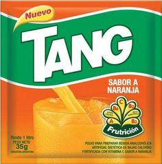 Tang. De llimona o de taronja