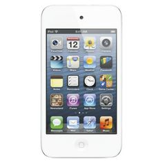 Apple iPod Touch 16GB (4th Generation) with touch-screen, Wi-Fi - White (ME179LL/A)