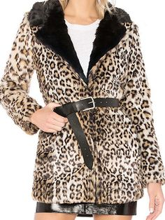 Lapel Slit Pocket Leopard Long Sleeve #Coats #womencoat Coats For Women, Clothes For Women, Only Online, Fashion Online, Fashion Outfits, Pocket, Long Sleeve, Sleeves, Stuff To Buy