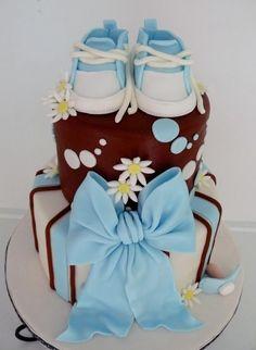 @Kathleen S S S S S S S DeCosmo ♡❤ #Cakes ❤♡ ♥ ❥ Baby Shower Cake