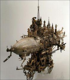 Kris Kuksi Sculpture Art