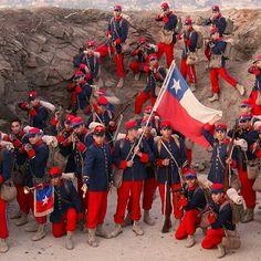 War Of The Pacific, Military Diorama, Military Uniforms, American War, Latin America, Bolivia, Napoleon, 18th Century, Death