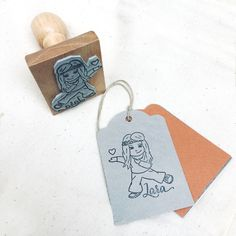 Custom illustrated portrait stamp and name, handdrawn portrait stamp, portrait for coloring, custom portrait drawing stamp, cartoon portrait Custom Stamps, Custom Logos, Wedding Silhouette, Original Gifts, Logo Stamp, Ink Pads, Customized Gifts, Custom Jewelry, How To Draw Hands