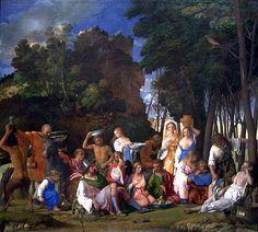 Il Festino degli dei è un dipinto a olio su tela di Giovanni Bellini, 1514.