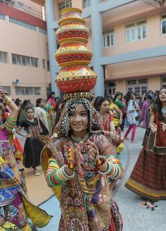 Navratri or Festival of Dance started on September 28 and will conclude on October 6, 2011