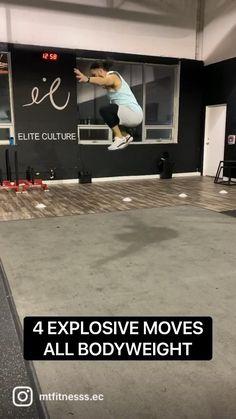 Jump Workout, Speed Workout, Gym Workout Chart, Plyometric Workout, Kickboxing Workout, Calisthenics Workout, Biceps Workout, Plyometrics, Exercise