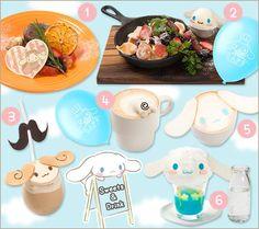 #Cinnamoroll at The Guest Café and Diner, Japan -- opens in Dec 2015 (*^_^*) 渋谷パルコに「シナモロールカフェ」が期間限定オープン!   ニュース・イベント   サンリオ