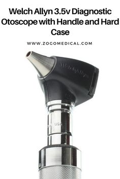 Welch Allyn Diagnostic Otoscope with Handle and Hard Case Handle, Personal Care, Knob