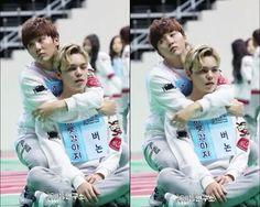 Seungkwan and Vernon. <3